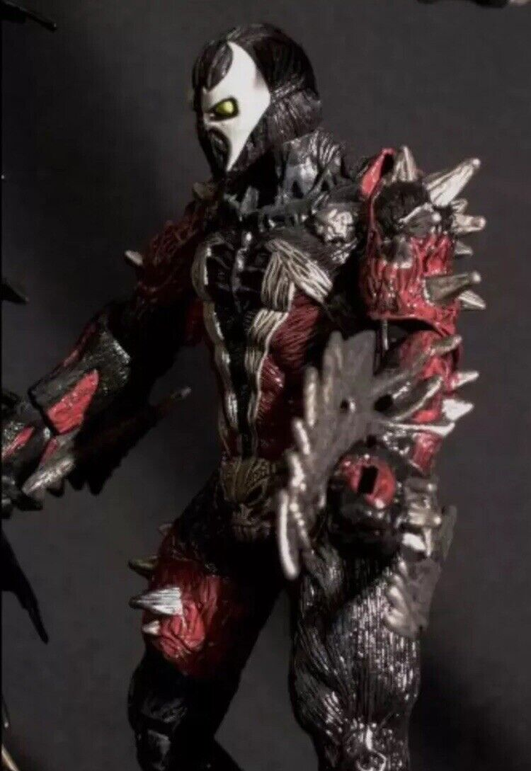 MCFARLANE TOTAL TOTAL TOTAL CHAOS SPECIAL EDITION SPIKED SPAWN ACTION FIGURE W DISPLAY CASE 94d4a4