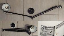Rossini illuminazione: Lampada Lume tavolo nera - orientabile 230 V