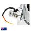 5-3-4-034-H4-Billet-Headlight-Chrome-HARLEY-Chopper-Bobber-Springer-Softail-Dyna-XL thumbnail 3