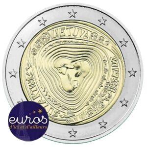 2-euros-commemorative-LITUANIE-2019-Les-Surtatines-Chansons-Folkloriques-UNC