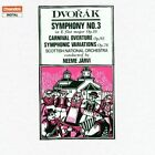 Dvorak Symphony No. 3 Carnival Overture Symphonic Variations Chandos Chan 85