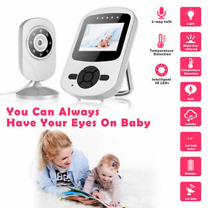 Campark 2.4GHz Wireless Video Baby Monitor Night Vision Camera Sensor 2.4