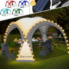 KESSER® Pavillon 3,60 x 3,60 mit LED in 5 Farben