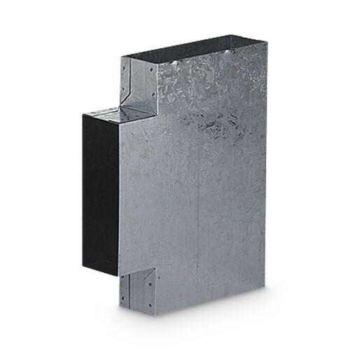Warmluftverteilung Schacht T Stück 150 x 50x 90°