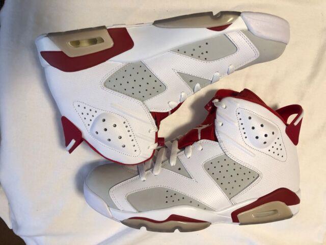 e982a843d9d371 Nike Air Jordan 6 Retro VI Alternate 1991 Hare Men Aj6 2017 Shoes DS ...
