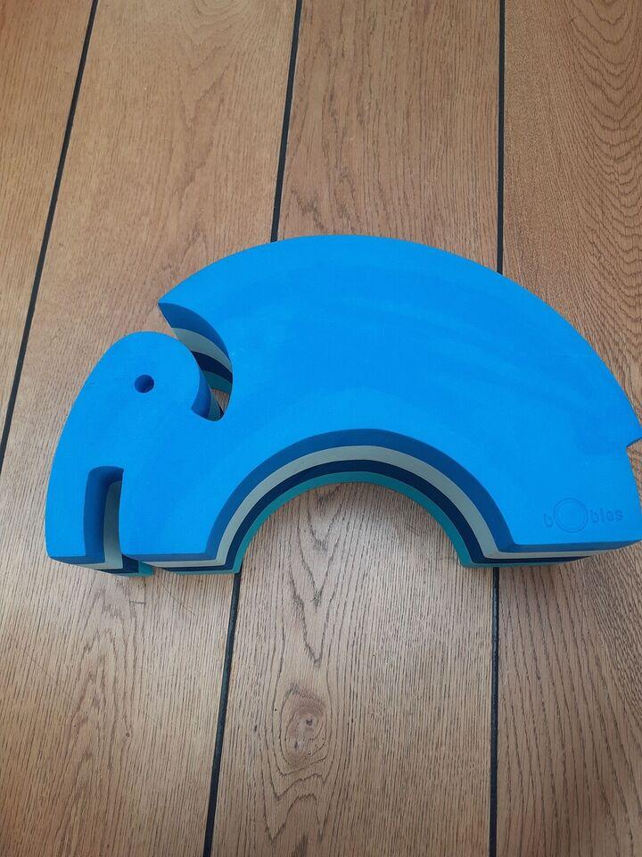 Bobles elefant mellem, aktivitetslegetøj