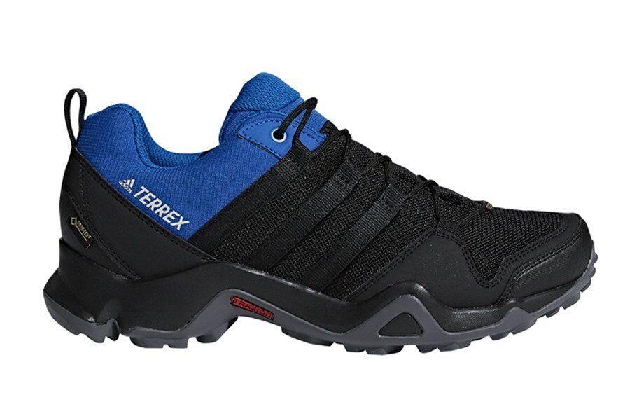 ADIDAS TERREX AX2R GORE-TEX AC8032 HERREN SPORTSCHUHE WANDERN TRAIL black blue