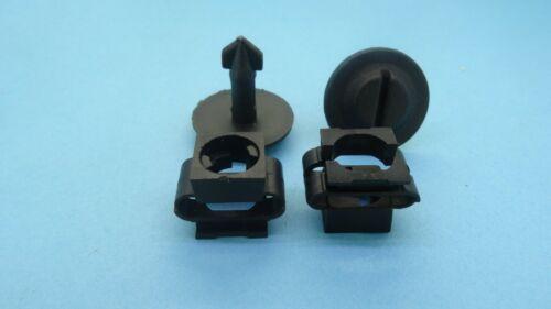 Protección contra salpicaduras de motor de jeep Bajo Bandeja Cubierta Pinzas Clips de Ajuste