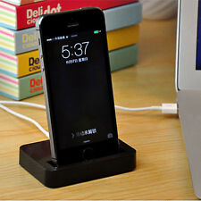 Desktop Charger Stand Docking Station Sync Dock Charge Cradle for iPhone 7 7Plus