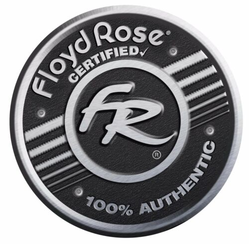 Chrome Authentic Floyd Rose Original Saddle #1