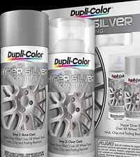 Duplicolor Hsk100 Hyper Sliver Coating Wheel And Rim Spray Paint Aerosol Kit