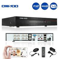 8ch P2p Hd Network Cctv Dvr Security Camera Video Recorder Phone Control P7n3