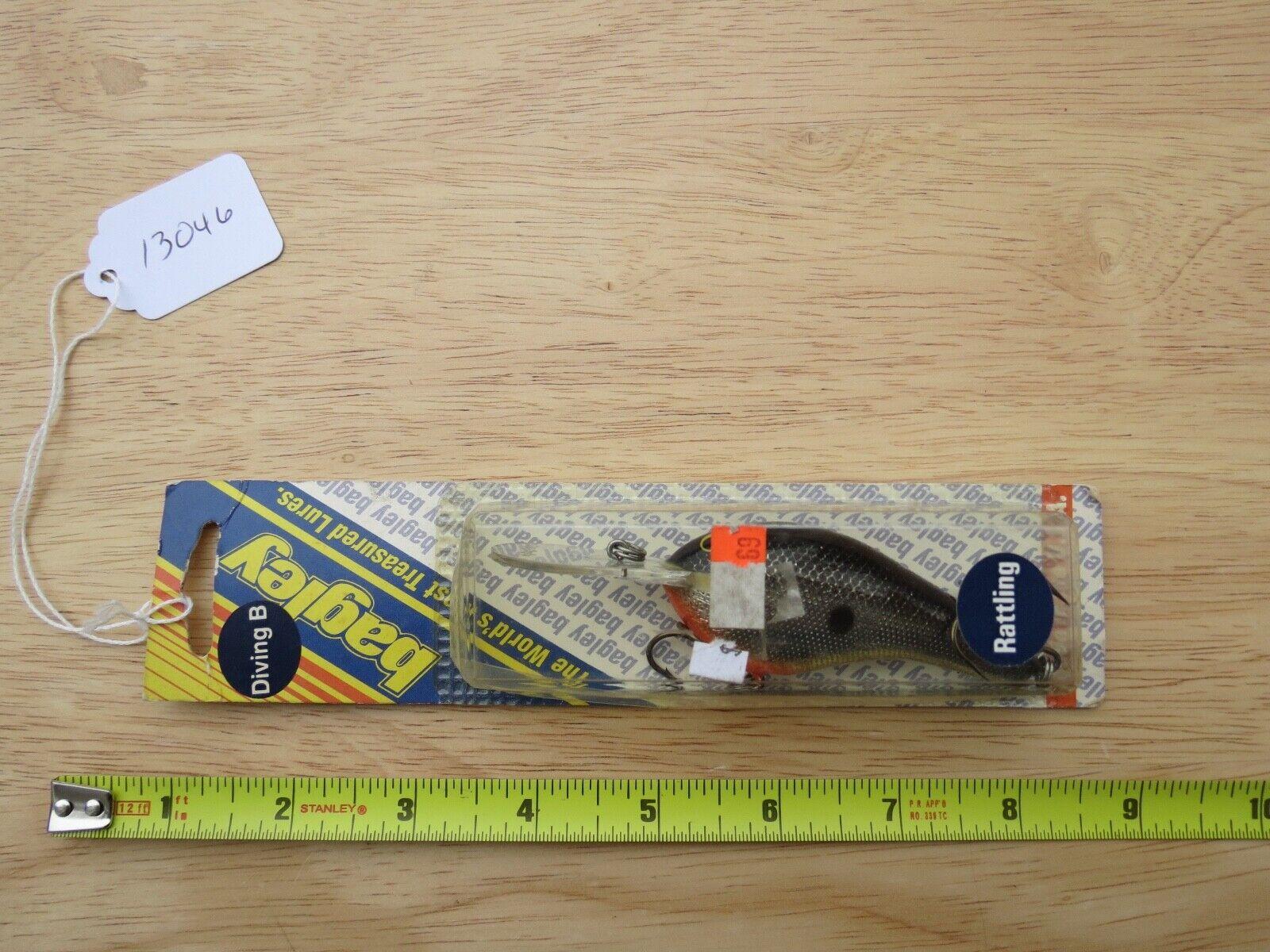 Bagleys Diving B3 Rattling DB3R B8 fishing lure made in USA  (lot)