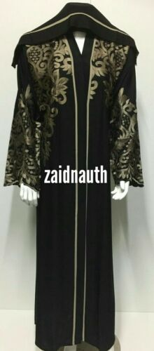 Nouvelle arrivée 2018 Arabie Abaya japonais Neda//Tailles 52.54.56.. Robe Les femmes abaya