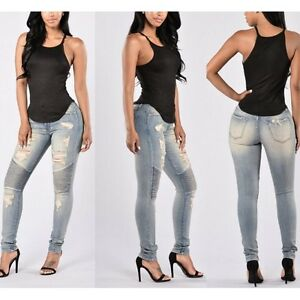 Hose-Frau-Art-Jeans-Baumwollmischung-Blau-Schlank-Schliessen-Dichte-6130