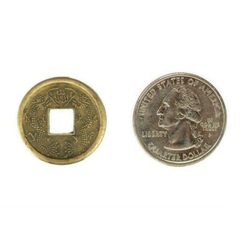 """LOT OF 40 FENG SHUI COINS 0.9/"""" 2.3cm Diameter Lucky Chinese Fortune Coin I Ching"""
