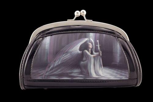 The Blessing by Anne Stokes Abend-Handtasche Engel Abendtasche mit 3D Bild