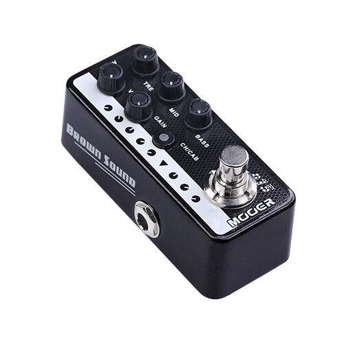 New Mooer Brown Sound 015 Digital Micro PreAmp Guitar Pedal!