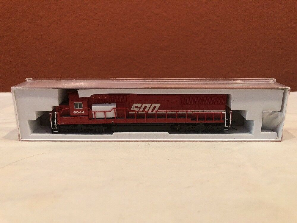 N SCALE ATLAS LOCO  40002036 SD-60 SOO LINE RD 6044 DCC READY NEW