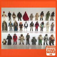 Vintage Star Wars Original Loose Kenner Action Figures Return Of The Jedi ROTJ