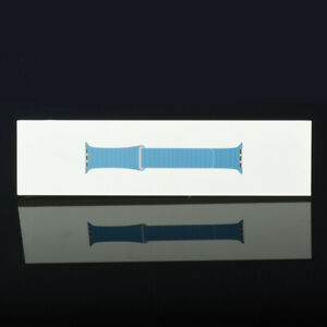 Apple Watch 42mm 44mm Series 1 2 3 4 5 6 Leather Loop Band Cape Cod Blue L Size