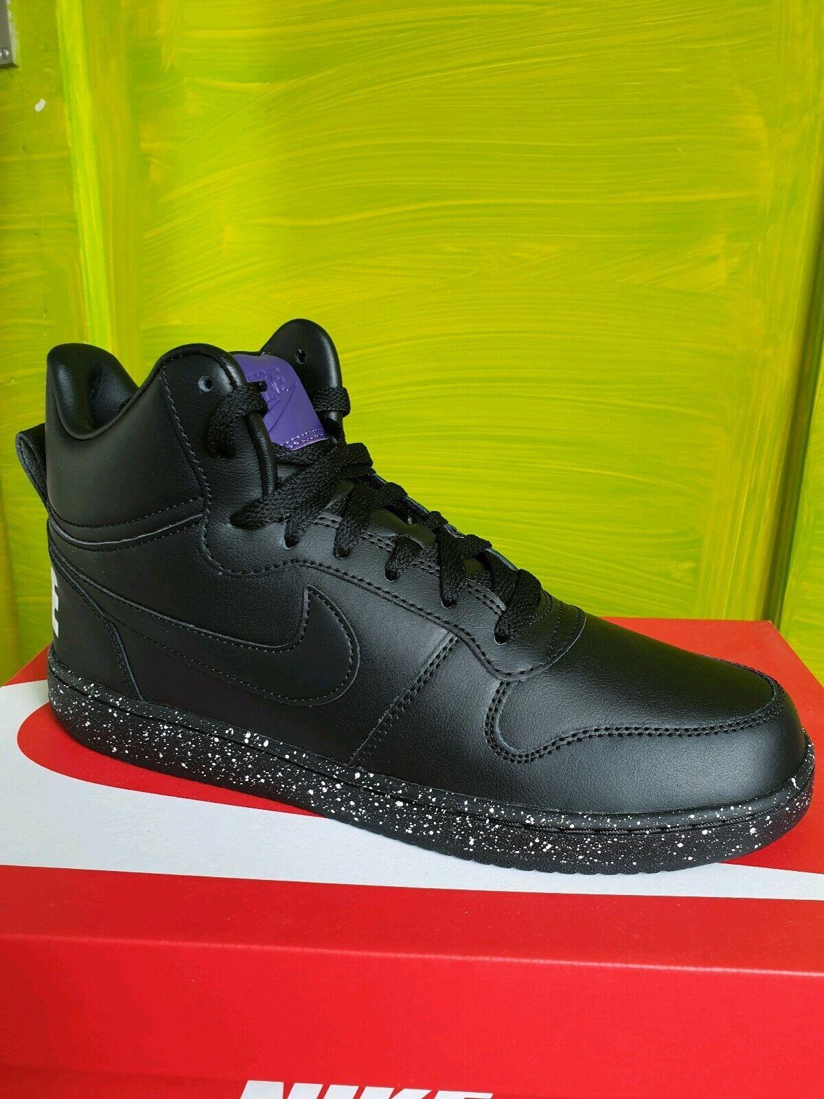 Nike Turnschuhe , schwarz , sport, court bGoldugh mid , 916759 001 Gr.42 ,UK 7,5