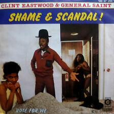 "7"" 60s CV 1984 RARE MINT- ! CLINT EASTWOOD & GENERAL SAINT : Shame And Scandal"