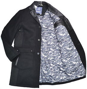 89165bd2b92d Image is loading BARBOUR-X-WHITE-MOUNTAINEERING-Riggyari-Wool-Coat