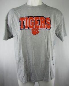 52d9754c Clemson Tigers Men's Gray Short Sleeve T-Shirt NCAA 2XL | eBay