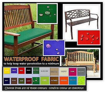 135cm X 44cm Zippy Waterproof Fabric, Waterproof Garden Bench Pads Uk