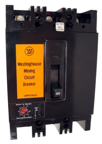 1366D21G17 Westinghouse FBM3050 66-190 MAG-ONLY Certified Reconditioned