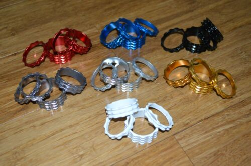 Modifiedbicycles Real CNC machined 1 1//8 threadless headset stem spacer 4pc set