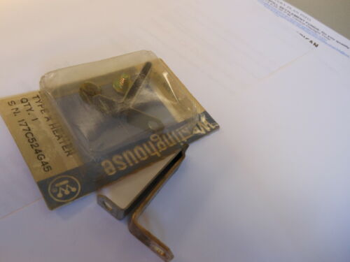 WESTINGHOUSE THERMAL OVERLOAD HEATER ELEMENT UNIT   NEW  FH46
