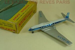 Nicky Toys India.   (Dinky) Dehavilland Comet.   British Airways.   Réf: 999 Boite.