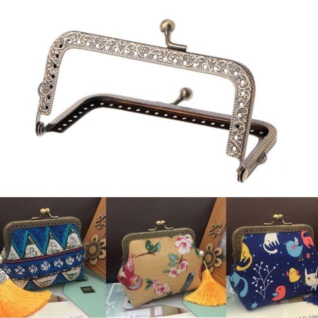 1pc DIY Purse Handbag Coins Bags Metal Kiss Clasp Lock Frame DIY ...