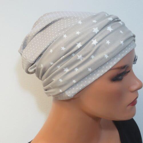 STIRNBAND Kopfbedeckung bei Chemotherapie Chemomütze  M1 MÜTZE//BEANIE