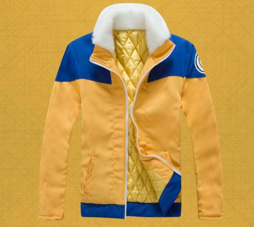 Naruto Uzumaki Naruto Cosplay Costume Thick Coat Hoodie Jacket Daily Wear New
