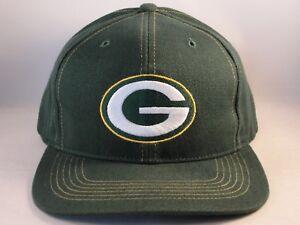 Green Bay Packers NFL Vintage Snapback Cap Hat Twins Enterprise  9092c87c2