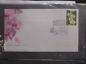 AUSTRALIA-1998-BOTANIC-GARDENS-FDC-FIRST-DAY-COVER-P-M-CANBERRA