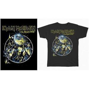 Licencia-Oficial-Iron-Maiden-En-vivo-despues-de-la-muerte-camiseta-Eddie-Metal