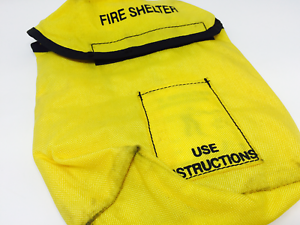 2  Canteen Water Bottle Yellow Pouch FSS Forest Service Fire Fighting