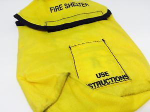 Forest Service jaune Alice Clip Pochette Fire Shelter Sac Pochette Field Pack FSS