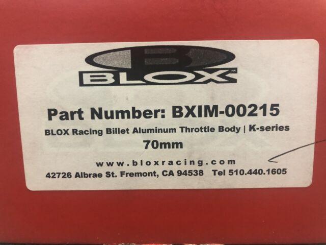 Blox Racing Billet  70mm Throttle Body Honda Acura K Series K20 K24