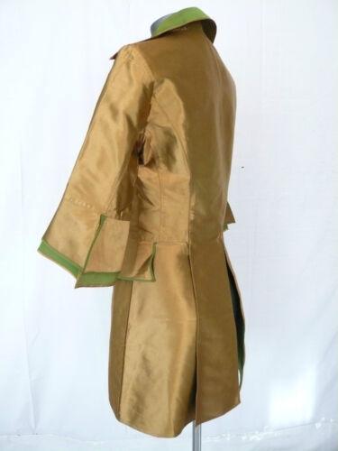 T sera oro 38 Lempicka Lolita in da Giacca verde e seta Couture FaUvWpH