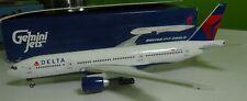 Gemini Jets 1 400 Delta Airlines Boeing 777-200lr GeminiJets Die-cast Model