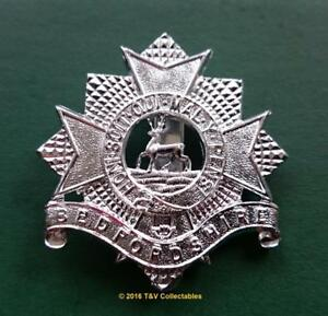Bedfordshire And Hertfordshire Regiment Lapel Pin Badge
