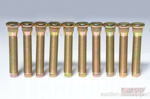 50mm Long Extended Wheel Lug Studs For MITSUBISHI Eclipse m12X1.5X50 K14.3 1989