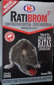 Appât frais super Concentré- poison spéciales contra rats RATIBROM 2 - 150 gr HUR4teSM-07221856-725623029