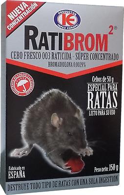 k der frisch super konzentrat gift spezielle gegen ratten ratibrom 2 150 gr ebay