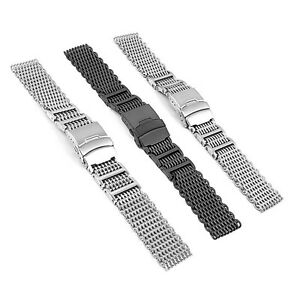 StrapsCo-H-Link-Stainless-Steel-Shark-Mesh-Strap-Watch-Band-Bracelet-Proplof